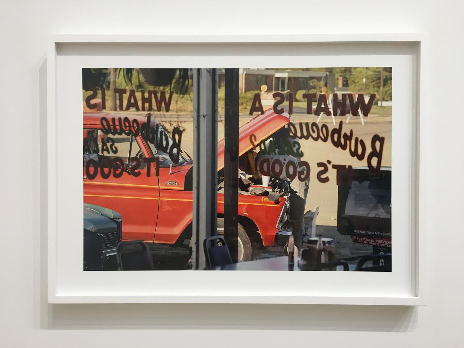 """""""Untitled,"""" from Eggleston's The Democratic Forest."""
