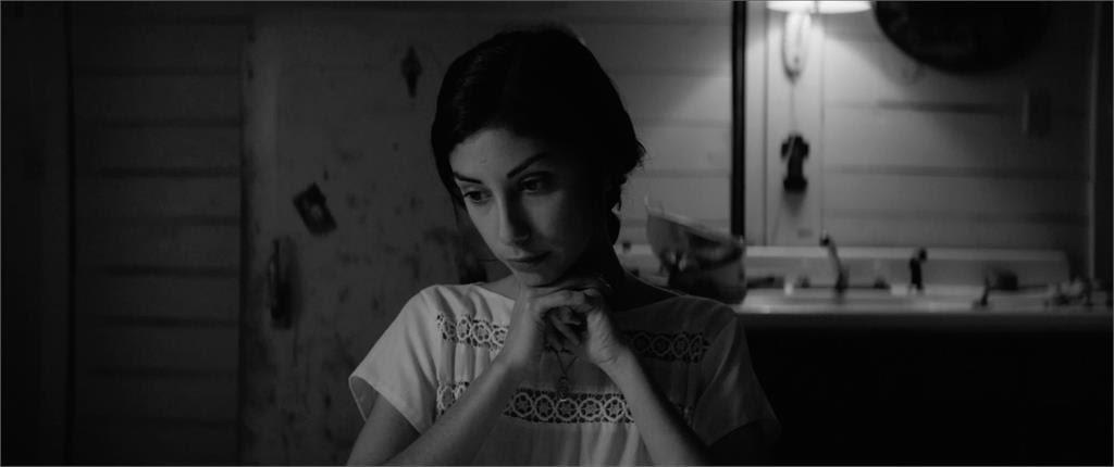 Directed by NYU alum Nicolas Pesce, Black-and-white horror film