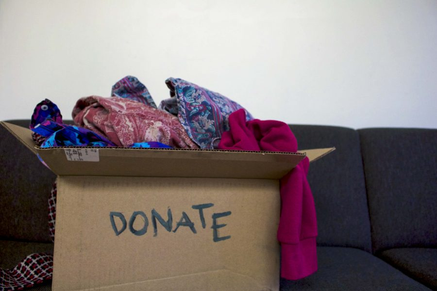 Donating+the+clothes+you+no+longer+wear+is+a+great+way+to+clean+out+your+closet+and+give+to+those+in+need+at+the+same+time.