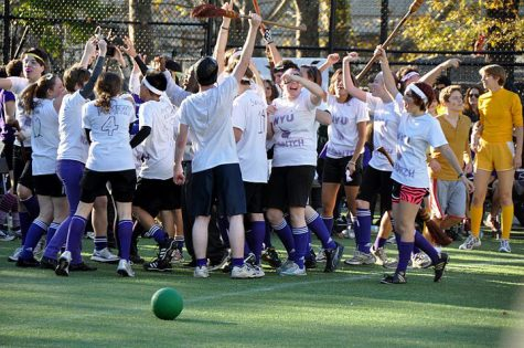 Brooms, Beaters and Bludgers: NYU Quidditch Makes Magic on the Field