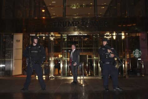 Protesters Flood the Streets, Head to Trump Tower