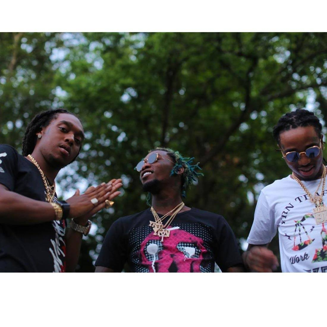 Migos, a rap trio from Atlanta, taught NYU students a class about their rise to fame and pop culture.