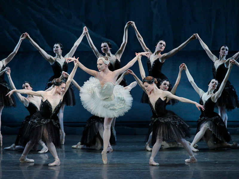 Tchaikovsky%27s+Swan+Lake+was+one+of+the+three+ballets+performed+by+the+NYCB+in+honor+of+George+Balanchine%27s+birthday