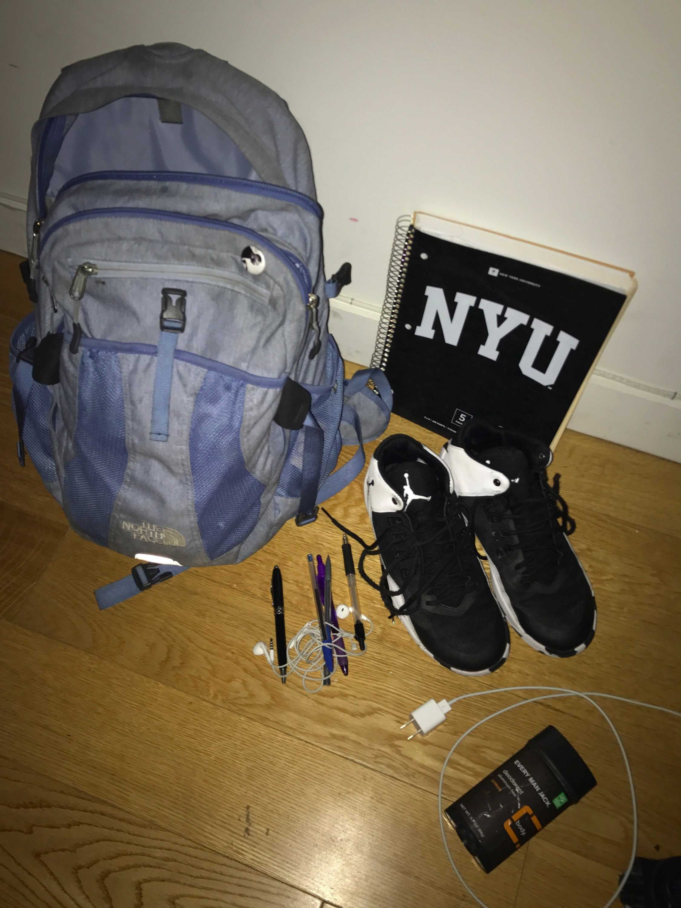 For a student athlete, the contents of their bag determines their daily success.