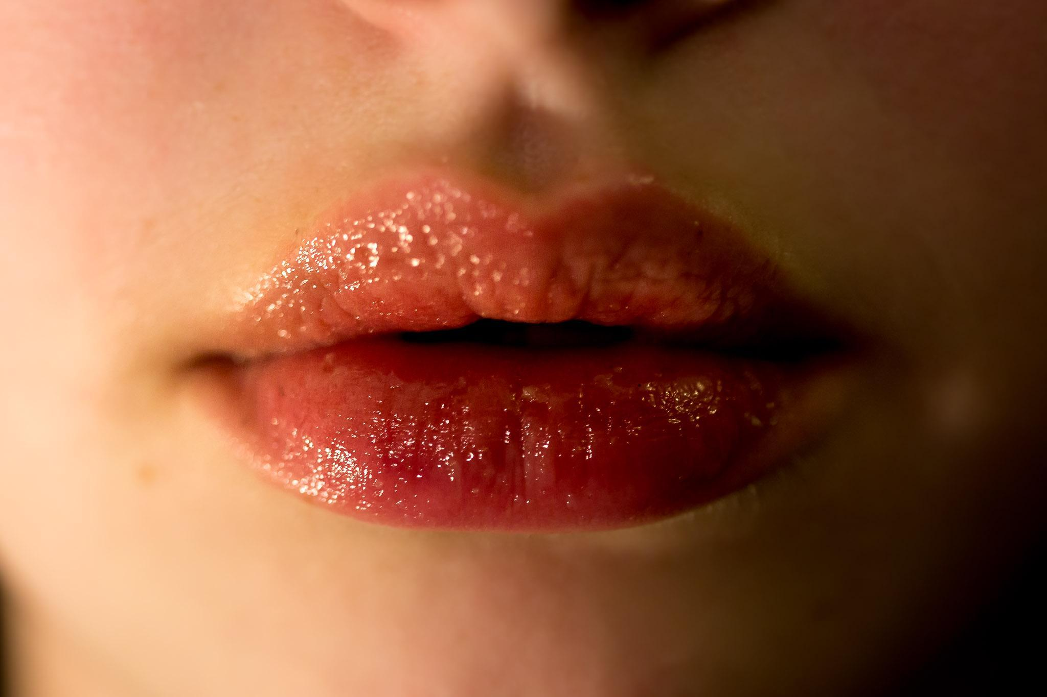 For Valentine's Day — or really any day ­­­— get soft, smooth lips by exfoliating, moisturizing and using a lip mask.