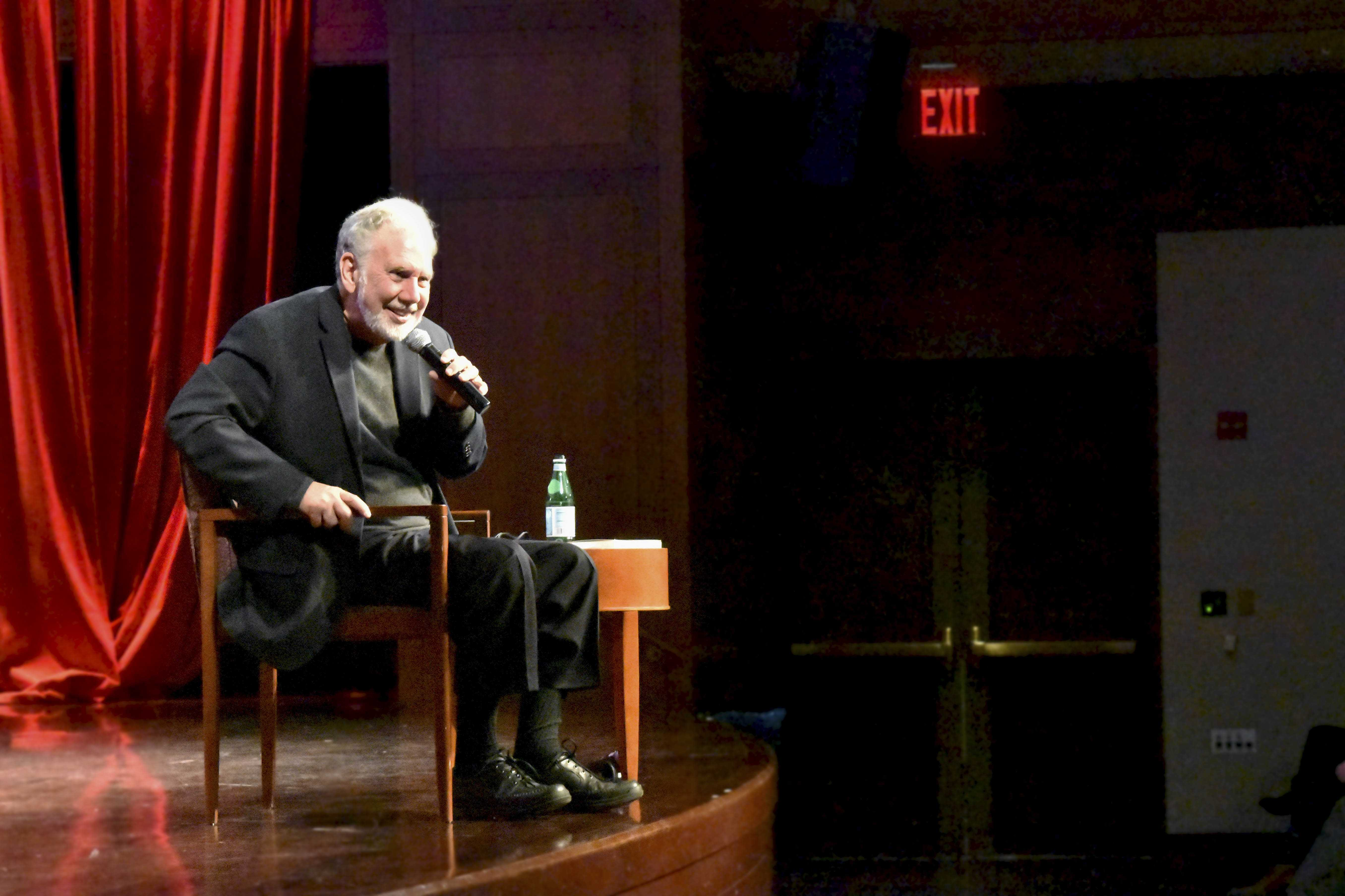 John Sexton, NYU's former President, spoke at a The Review and Debates club event on February 21 at the Kimmel Center.  Sexton discussed free speech and answered the questions about the recent cancellations of controversial speakers.