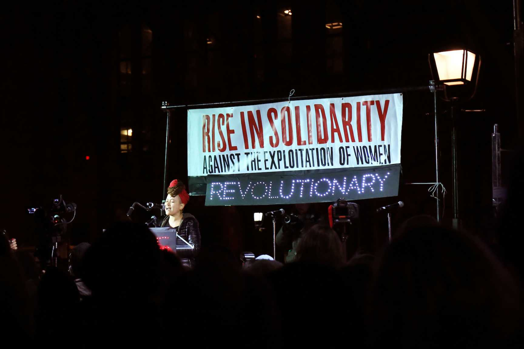 It is sometimes difficult, especially for students, to find proactive ways to help those in need.  Some decide to show their support through protests, like the Artistic Uprising protest in Washington Square Park on February 14.