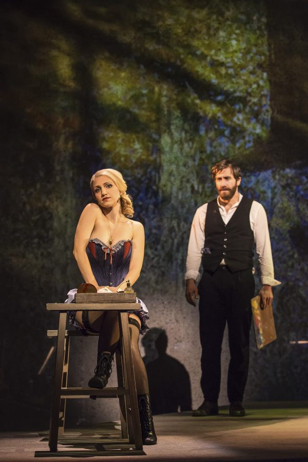 Annaleigh+Ashford+and+Jake+Gyllenhaal+led%E2%80%9CSunday+in+the+Park+With+George%E2%80%9D+at+the+Hudson+Theater.+The+show+%2Cfull+of+renowned+Tony+winners+and+veteran+Broadway+performers%2C+will+play+until+April+23.