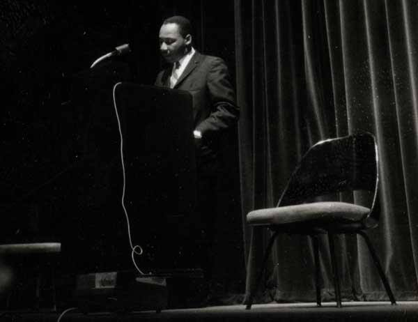 Dr. Martin Luther King delivered a speech on NYU's campus on Feb. 10, 1961. In commemoration, NYU hosts its MLK week on the anniversary of the speech each year.