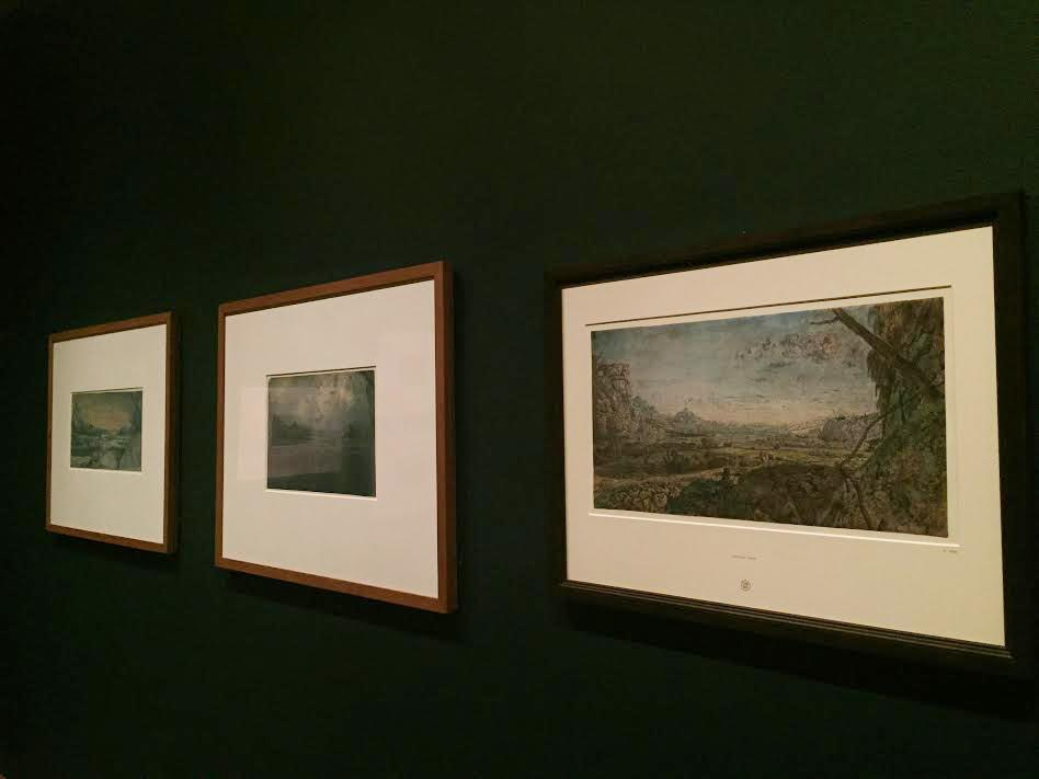 """Pictured is """"Mountain Valley with Fenced Fields, ca. 1625-30"""" by painter Hercules Segers, whose work is being featured at the Metropolitan Museum of Art. This exhibit, """"The Mysterious Landscapes of Hercules Segers,"""" includes landscapes and oil sketches."""