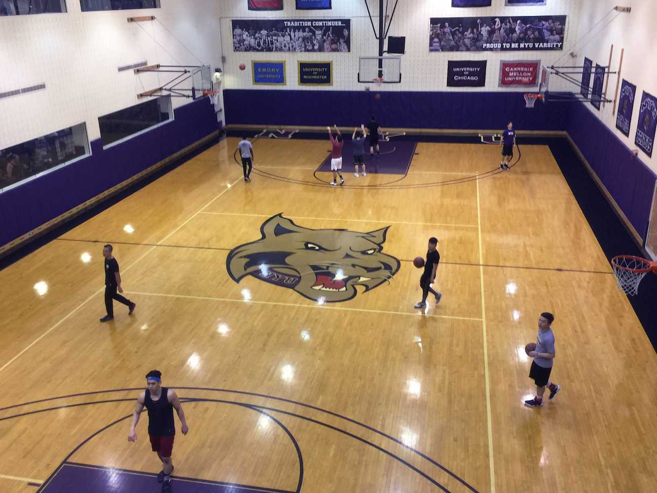 Although NYU has a division III athletic program, it can be the perfect place for student athletes, as there is a strong focus on academics.