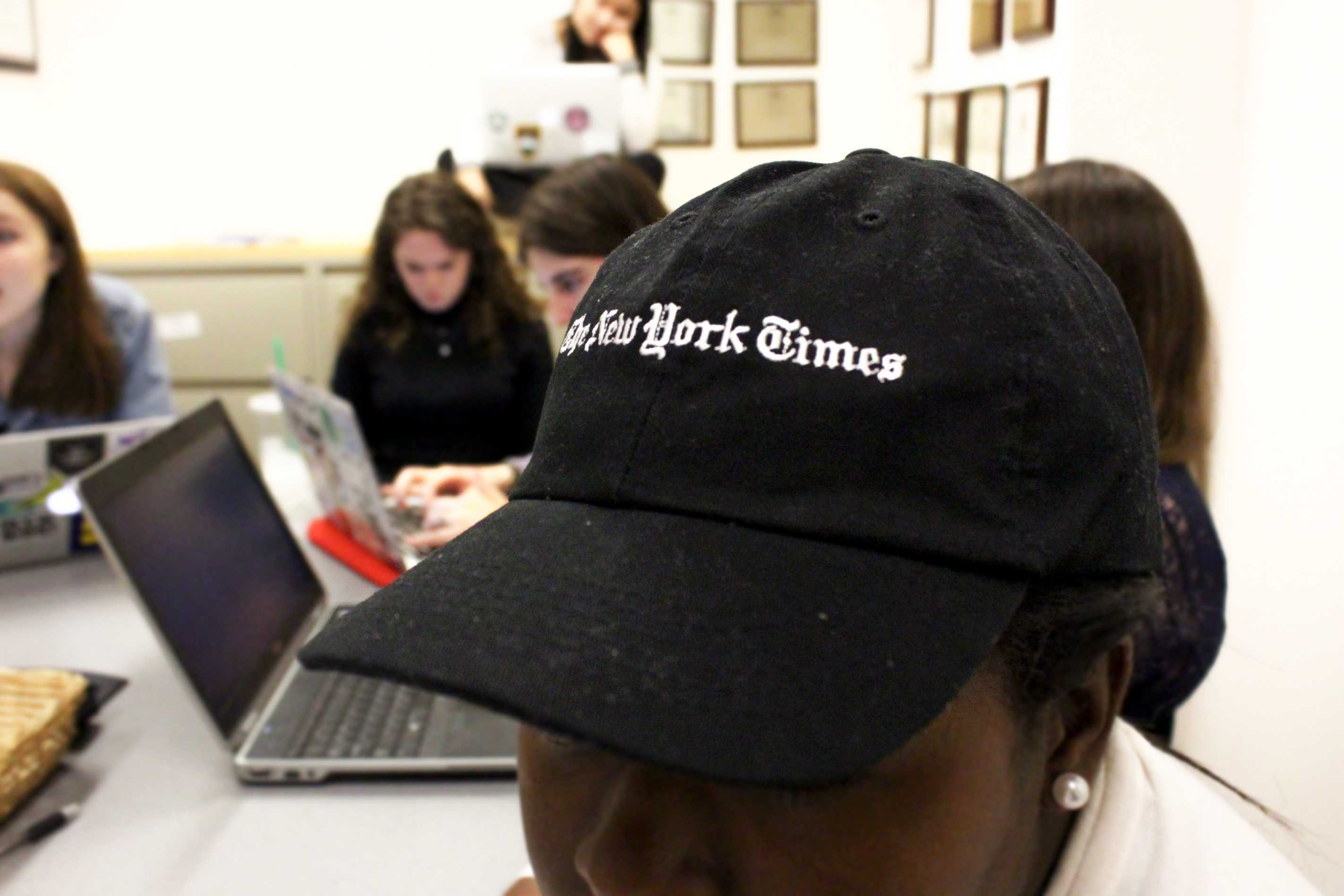 Last week, President Donald Trump barred the New York Times alongside other major news outlets (including CNN and Politico) from attending White House briefings. Journalism students worry about what this means for the future.