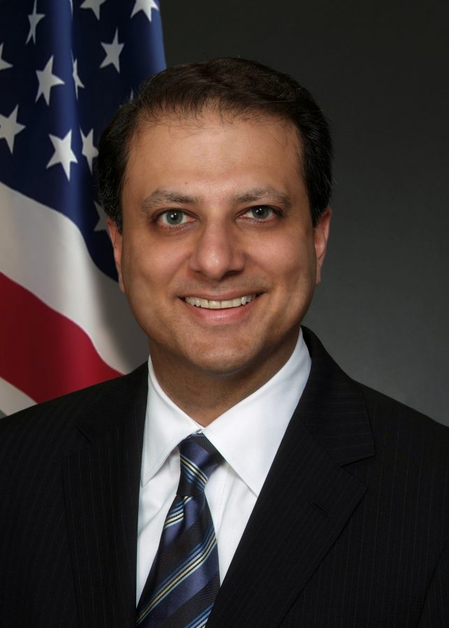 Fired+by+the+Trump+administration%2C+former+U.S.+attorney+for+the+Southern+District+of+New+York%2C+Preet+Bharara%2C+will+be+joining+NYU+Law+School+on+April+1.+Both+Bharara+and+the+members+of+the+school+are+excited+for+his+position+as+a+distinguished+scholar+in+residence.