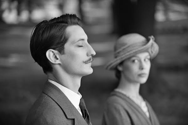 """Pierre Niney and Paula Beer as Adrien and Anna, in French filmmaker Franҫois Ozon's """"Frantz."""" """"Frantz"""" released in the U.S. on March 17."""