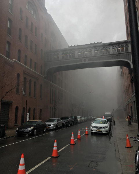 A+fire+at+Chelsea+Market+earlier+today+caused+hundreds+of+people+to+evacuate+the+building.+Only+one+injury+was+reported+and+the+fire+was+extinguished+in+less+than+an+hour.