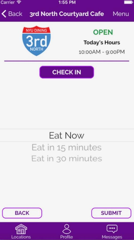 EatUp, developed by Suhashini Sarkar, matches university students to others that hope to avoid eating alone. The app can help students meet new people at campus dining halls.