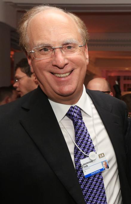 CEO of BlackRock and Boards of Trustees member, Larry Fink, is a shareholder with ExxonMobil.