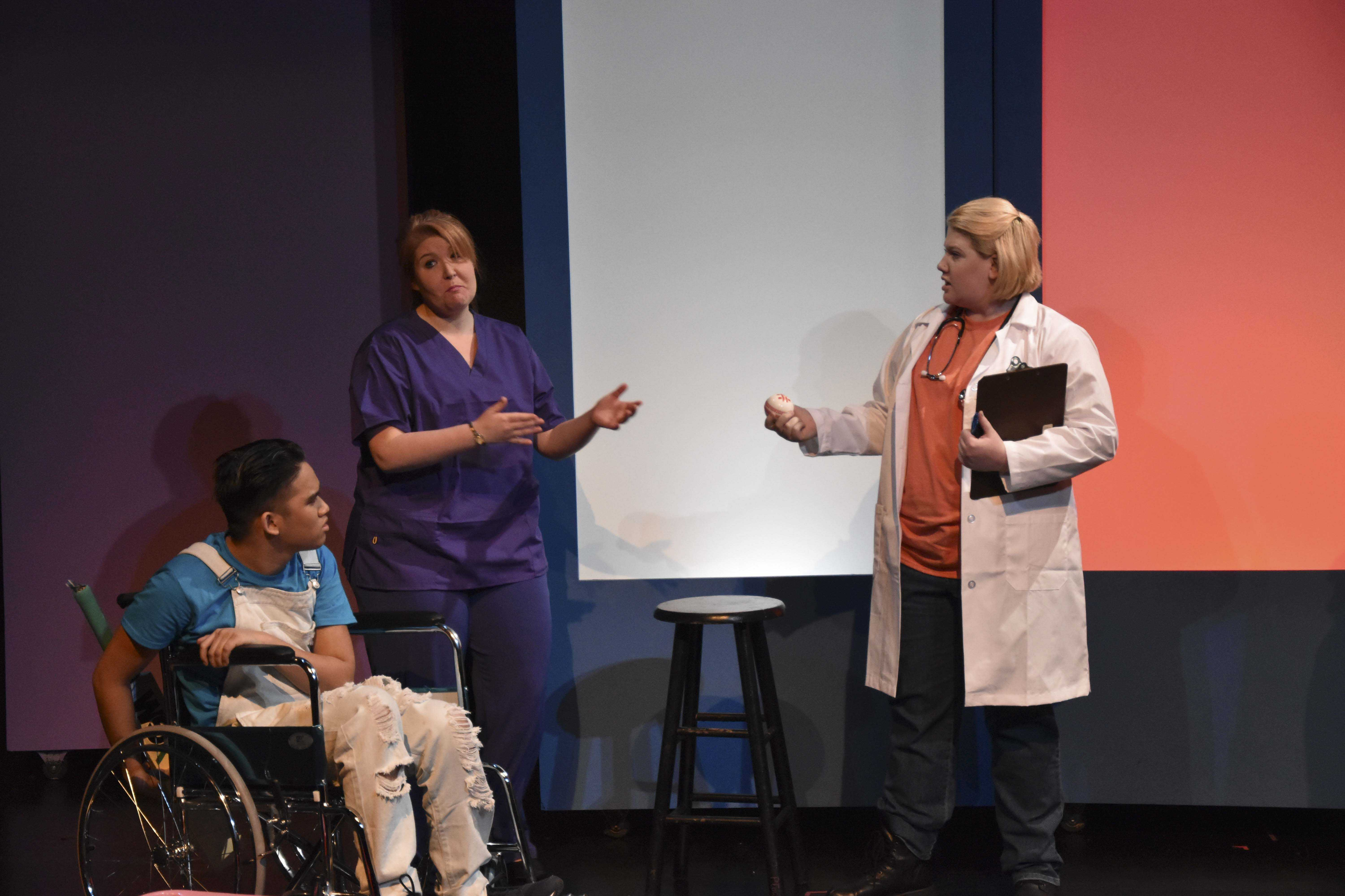 """""""Two Weeks with the Queen,"""" ran from Feb. 24 to March 5. The play was about the effects cancer can have on people outside the patient themselves."""