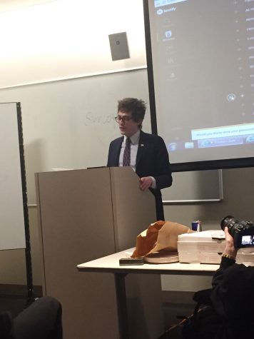 Lucian Wintrich Speaks at NYU After Postponed Visit