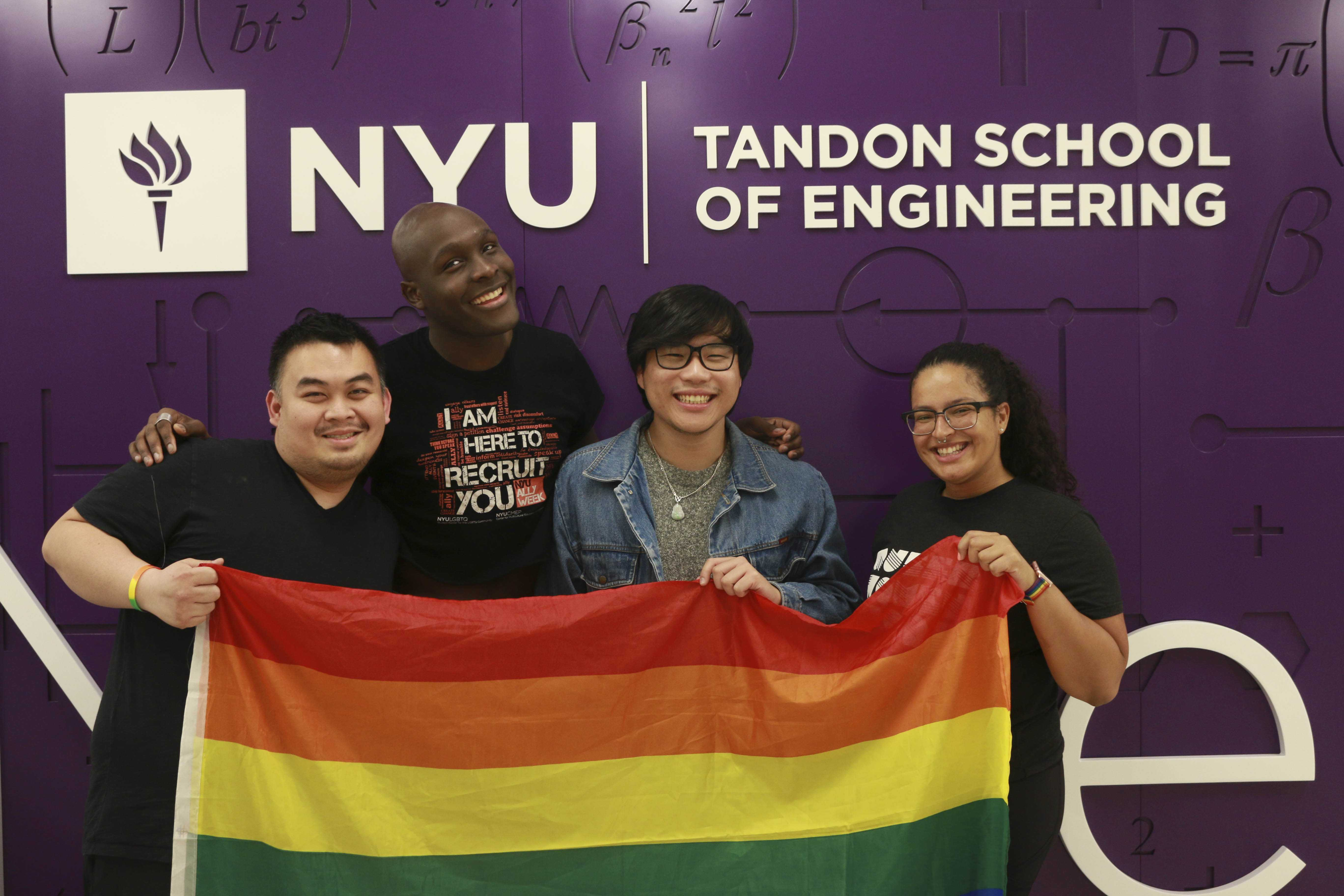 oSTEM, which stands for Out in Science, Technology, Engineering and Mathematics, is an international organization that supports the queer and trans community in the STEM fields. oSTEM at NYU Tandon School of Engineering also helps foster safe spaces on campus.