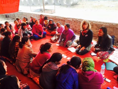 NYU Design for America Members Collaborate with Youth in Nepal