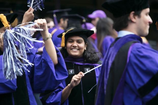 For+many%2C+graduation+and+the+prospect+of+beginning+a+career+can+be+both+exciting+and+terrifying.+NYU+graduates+offer+their+perspective+on+the+transition.