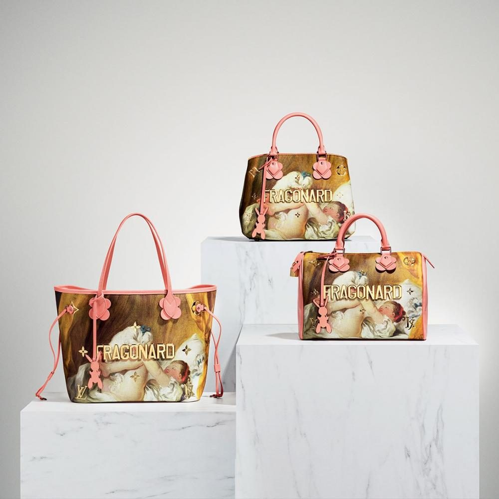 Fragonard%2C+from+the+Masters+Collection+by+Louis+Vuitton+and+artist+Jeff+Koons.+Louis+Vuitton+has+collaborated+with+Koons+to+create+a+51+piece+collection+of+bags+and+accessories+that+depict+famous+renaissance+art.