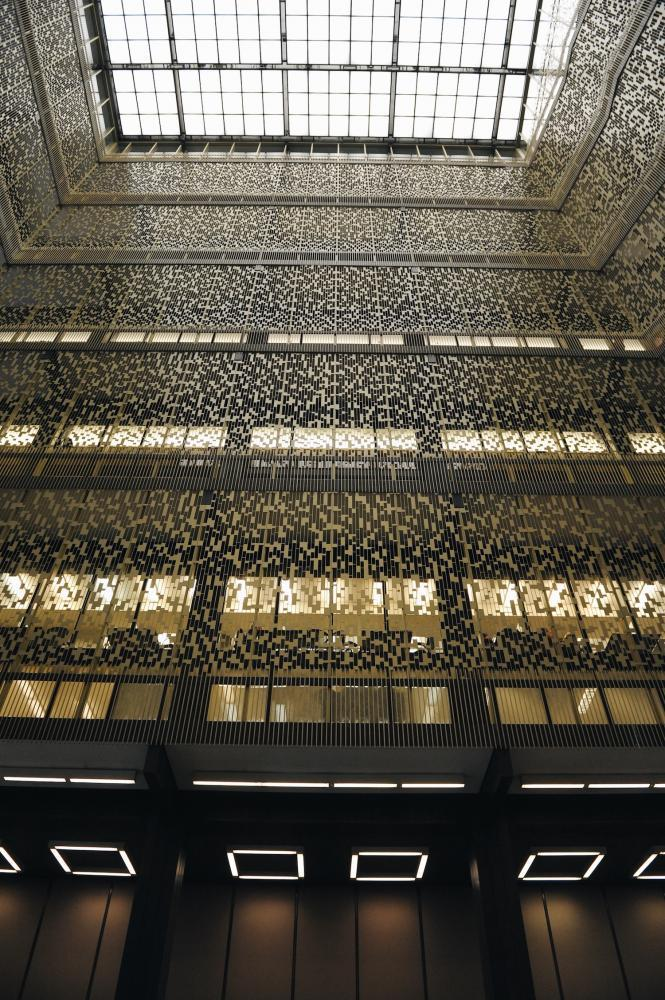 NYU students pack Bobst Library as they brace for midterm month.