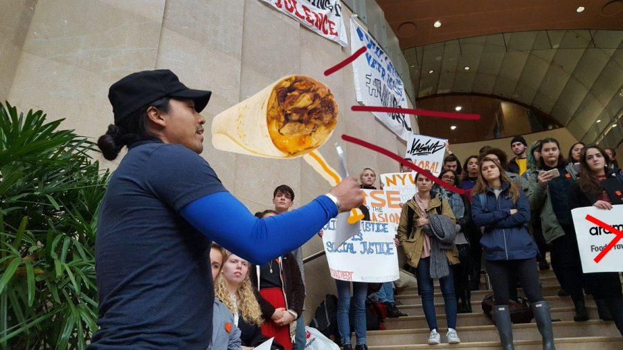 Students+suddenly+flooded+Kimmel+on+Friday+for+a+general+protest.+Anybody+was+allowed+to+protest+anything+they+wanted%2C+as+long+as+they+showed+solidarity.