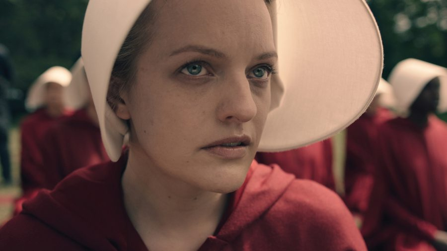 %E2%80%9CThe+Handmaid%E2%80%99s+Tale%2C%E2%80%9D+directed+by+Bruce+Miller+and+based+off+Margaret+Atwood%E2%80%99s+1985+novel%2C+will+debut+on+Hulu+beginning+April+26.+The+first+episode+screened+at+the+Tribeca+Film+Festival+this+Friday.