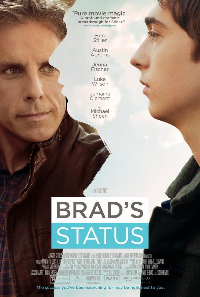 In his latest role as Brad Sloan, Ben Stiller's character compares his present to the glory days of college.