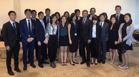Singapore Students Association Members Attend the UN General Assembly