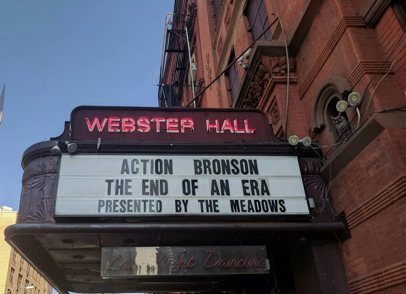 Webster Hall's doors are closed for renovations indefinitely, ending a century of music history in the East Village.