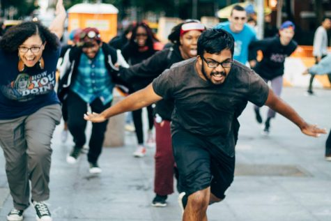 Students Run Wild for Naruto