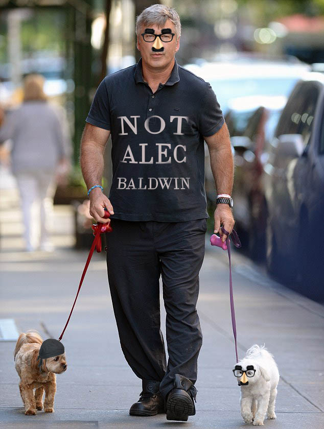 HUMOR: Alec Baldwin: 'Just let Me Walk My Dogs in Peace'
