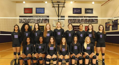 Volleyball team returns to winning record in New Jersey