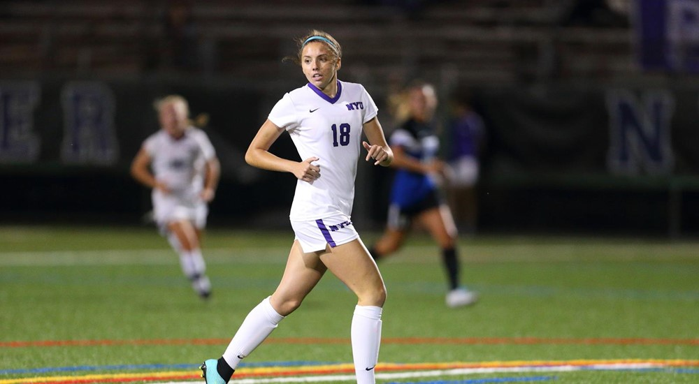 Tori Bianco scored the game winning goal for the women's soccer team against Case Western. This week's recap also covers men's and women's cross country, men's soccer, men's golf, and women's volleyball.