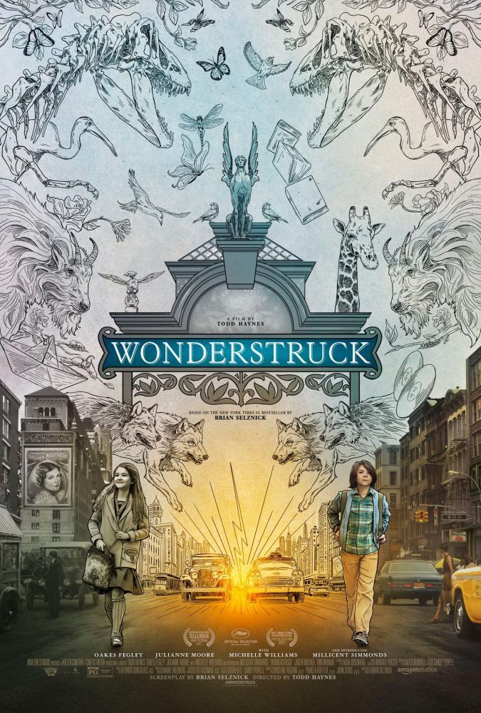 """Wonderstruck"" is based on the children's book of the same name written by Brian Selznick, and tells the story of young boy from the midwest and a young girl in New York. A series of events unfold as they both seek a mysterious connection."