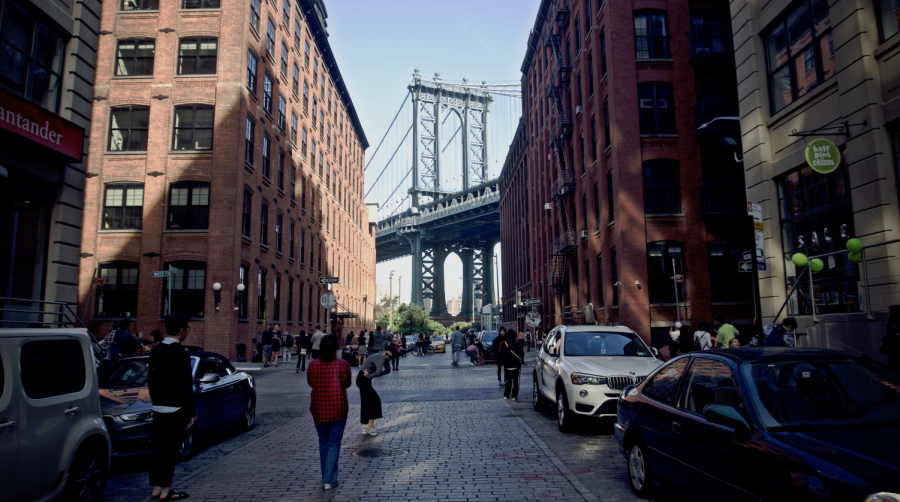 The+Manhattan+Bridge+archway+is+among+the+many+things+one+should+see+when+visiting+the+Dumbo+neighborhood+in+Brooklyn.