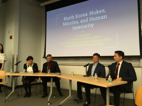 NYU Panel Discusses Human Rights Violation and Growing Escalation in North Korea