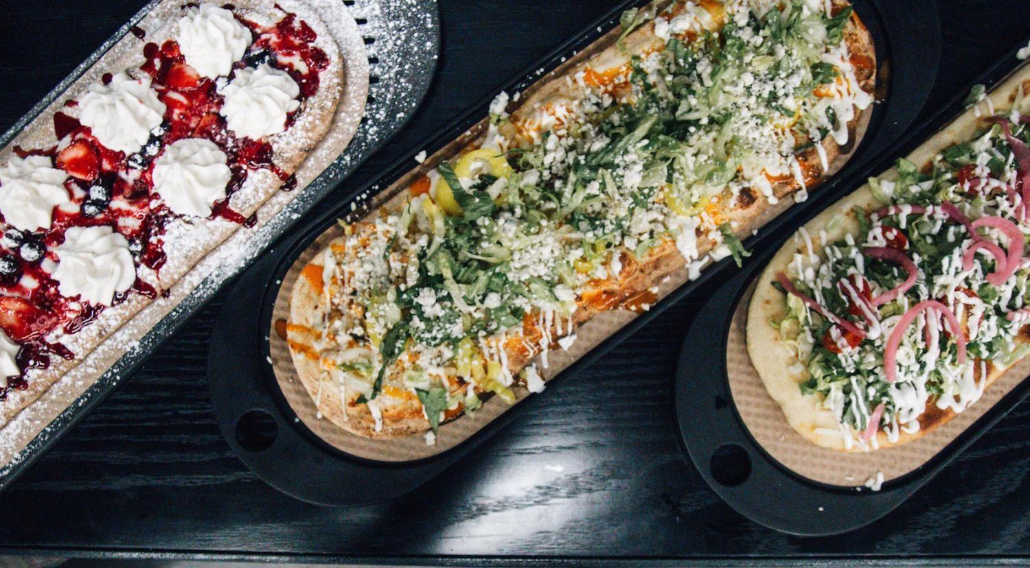 &pizza just opened on Broadway and Astor Place and offers a number of personal pizzas, as well as a create your own option at an affordable price.
