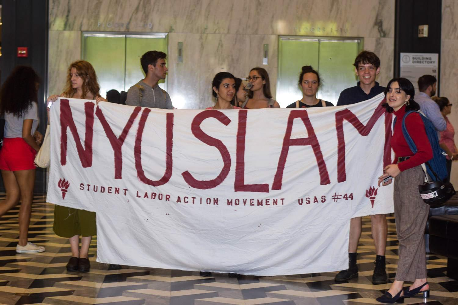 NYU SLAM has made a number of claims recently against members of the Board of Trustees in regard to their conflicting interests.
