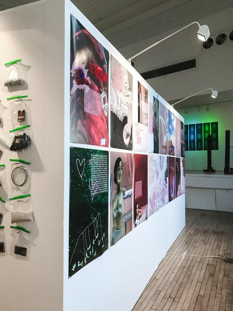 The+new+art+exhibit+by+NYU+students+Nathan+Freeman%2C+Monilola+Olayemi+Ilupeju+and+Aley+Saparoff+discusses+the+innocence+of+childhood+memories+with+larger+themes+between+sexuality+and+gender.+%E2%80%9CTuck+Me+In%E2%80%9D+is+running+until+Oct.+9+at+NYU+Steinhardt+Department+of+Art+and+Art+Professions+at+34+Stuyvesant+St.