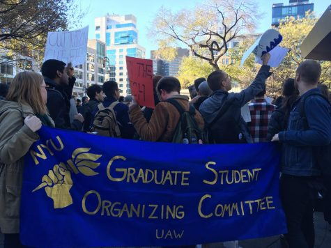 Graduate Students Protest Tax Reform