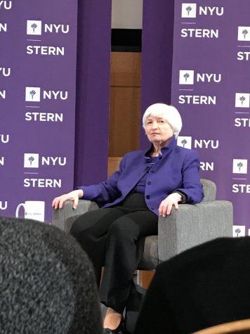 Federal Reserve Chair Janet Yellen Steps Down, Speaks at Stern