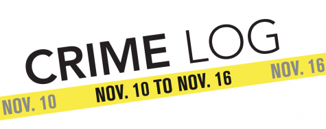 Crime Log: Nov. 10 to Nov. 16