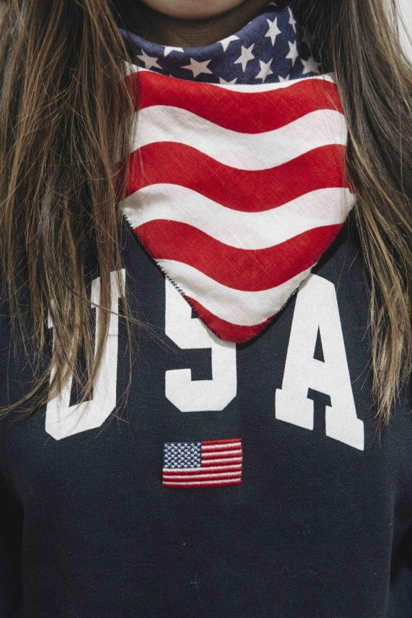 The+U.S.+flag+has+appeared+on+clothing+as+an+icon+or+a+print+for+decades%2C+but+is+now+being+banned+from+appearing+on+apparel.%0A