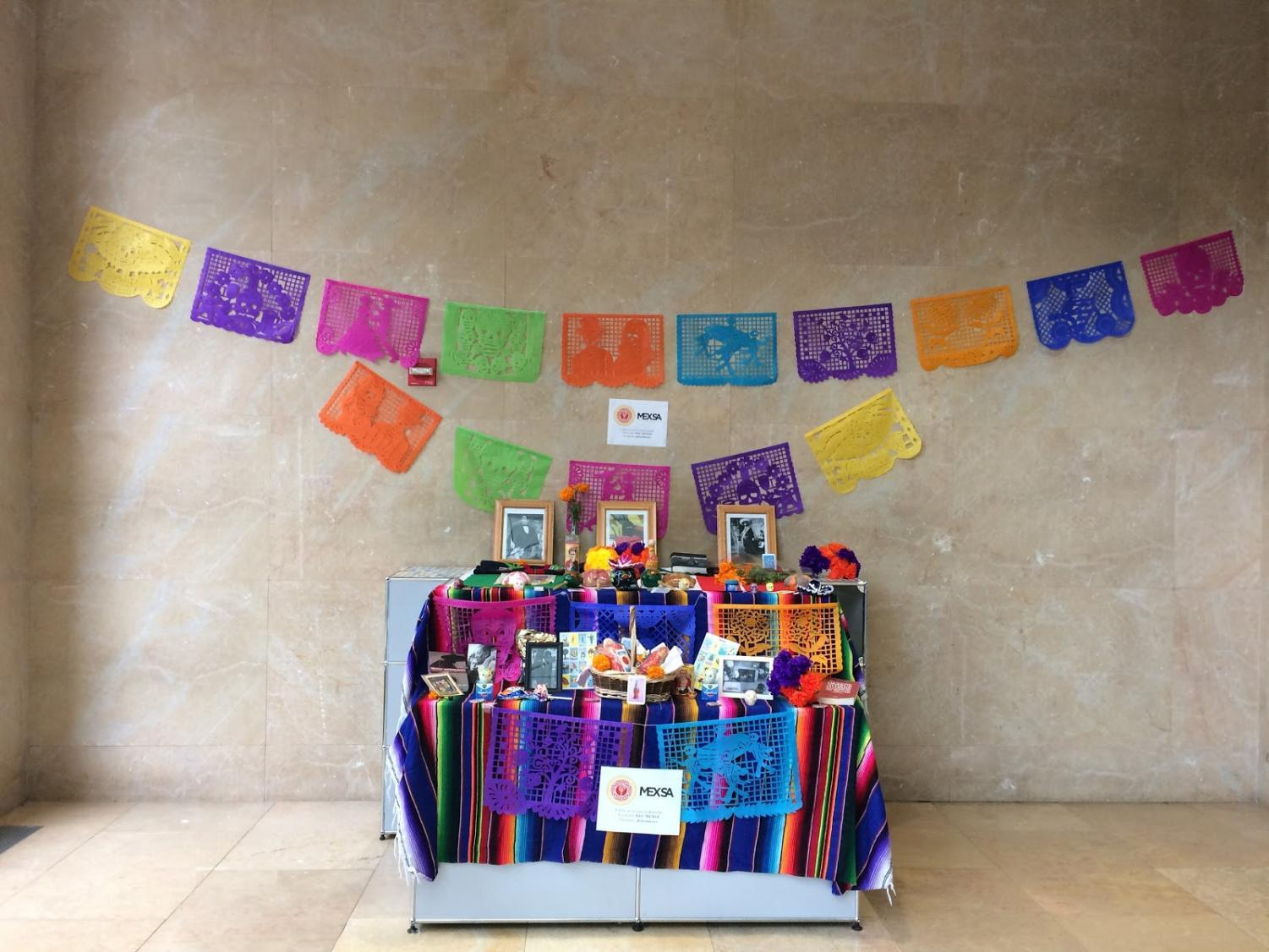 NYU's Mexican Student Association to celebrate Día de los Muertos, or Day of the Dead  from Oct. 31 to Nov. 2 in the lobby of Kimmel Center for University Life.