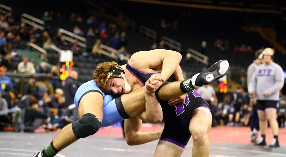 The NYU wrestling team prevailed in all three of their matches at the New York versus Pennsylvania Duals, outscoring their competition 129-18 for the afternoon.