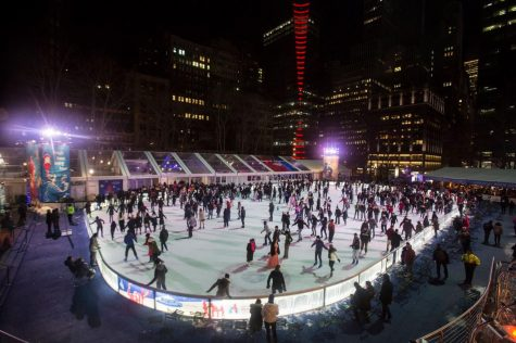 Bryant Park's Winter Village Rings in the Season